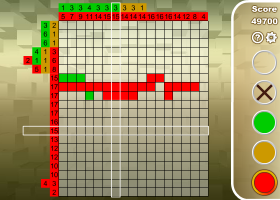 Nonogram screenshot