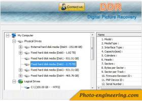 Digital Photo Rescue Software screenshot
