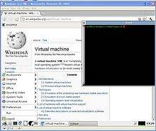 Microsoft Virtual PC 2007 screenshot