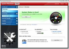 System Mechanic Free screenshot