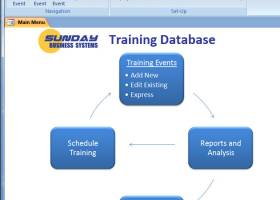 SBS Training Database screenshot