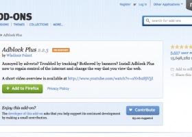 Adblock Plus for Firefox screenshot