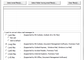 Transfer EML Files to Outlook 2010 screenshot