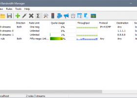 SoftPerfect Bandwidth Manager screenshot
