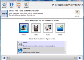 PHOTORECOVERY Standard 2017 for PC screenshot