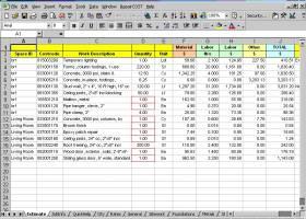 RepairCost Estimator for Excel screenshot