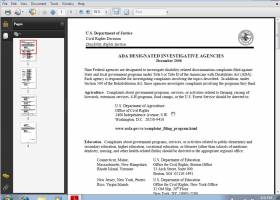 Adobe Reader 9 screenshot