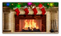 Christmas Fireplace screenshot