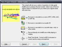 Intelliscore Polyphonic MP3 to MIDI Converter screenshot