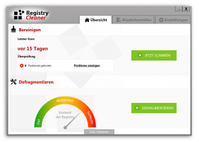 RegistryCleaner screenshot