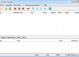 File & Image Uploader screenshot
