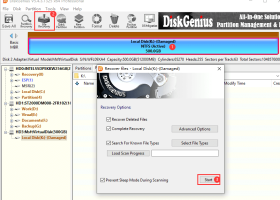DiskGenius Standard Vista download - data recovery and