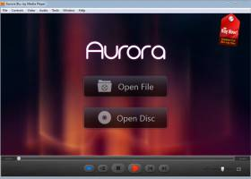 Aurora Blu-ray Media Player screenshot