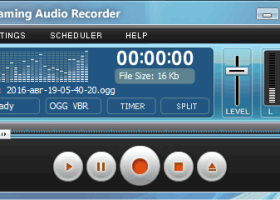 Streaming Audio Recorder screenshot