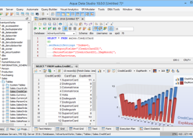 Aqua Data Studio x64 screenshot