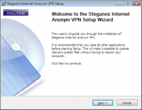 Steganos Internet Anonym VPN screenshot