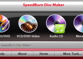 SpeedBurn Disc Maker screenshot