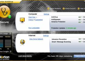 Norton AntiVirus Virus Definitions screenshot