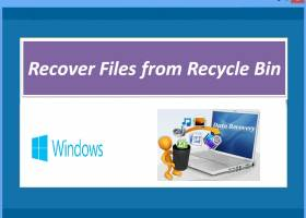 Recover Files from Recycle Bin screenshot