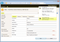 HarePoint Active Directory Self Service screenshot