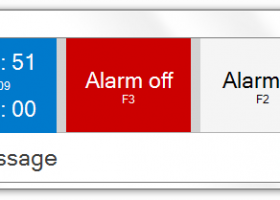 Alarm screenshot