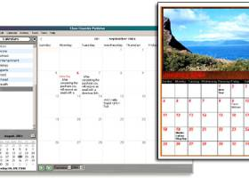 Website Calendar Pad screenshot
