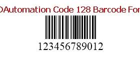 IDAutomation Code 128 Barcode Fonts screenshot