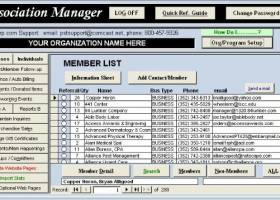 Association Manager screenshot