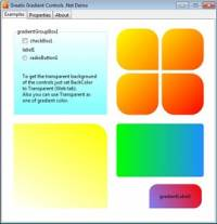 Gradient Controls .Net screenshot