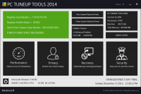 PC TUNEUP TOOLS 2014 screenshot