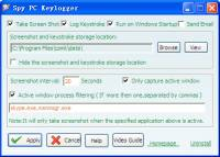 Spy PC Keylogger screenshot