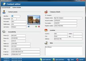 Free Address Book - Contact management screenshot