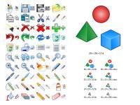 Graphic Icon Set screenshot