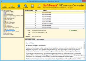 MDaemon File Converter screenshot