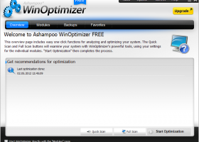 Ashampoo WinOptimizer FREE screenshot
