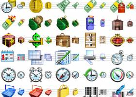 Business Software Icons screenshot