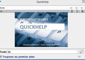 QuickHelp screenshot