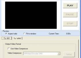 VideoEdit ActiveX Control screenshot