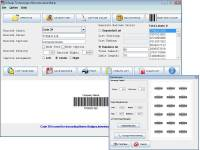 Barcode 128 Software screenshot