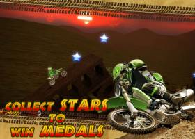 Trial Motorbikes Savanna Stars screenshot