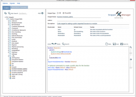 Powershell Snippet Manager and Injector screenshot