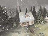 Snowy Winter 3D Screensaver screenshot