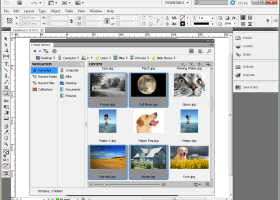 Adobe InDesign CS5 screenshot