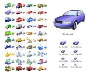 Transport Icon Set screenshot