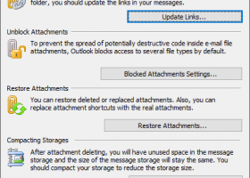 Attachments Processor for Outlook screenshot