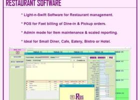 NRos Restaurant POS Billing Software screenshot