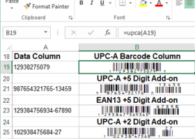 IDAutomation GS1 UPC/EAN Barcode Fonts screenshot