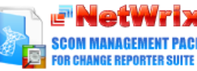 Netwrix Change Reporter Suite SCOM Pack screenshot