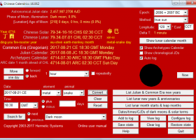 Chinese Calendrics screenshot
