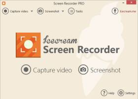 Icecream Screen Recorder screenshot